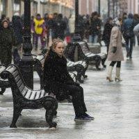В городе идёт снег :: Александр Степовой