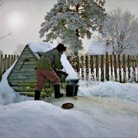У колодца вода льется :: Валерий Талашов