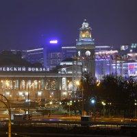 Киевский вокзал в ночи :: Мария Самохина