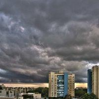 Небо укрылась серым покрывалом :: Ефим Журбин
