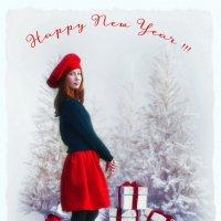 Новогодняя открытка :: Ксения