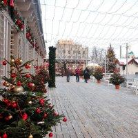 Новогодняя Тверская площадь :: Константин Поляков