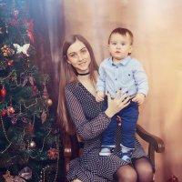 Студийная фотосессия с мамой :: марина алексеева