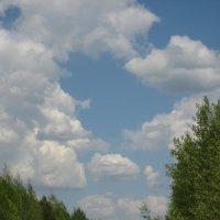 облачное настроение :: Алексей Хохлов