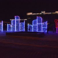 К встрече Нового года Московская площадь готова!!!! :: Валентина Папилова