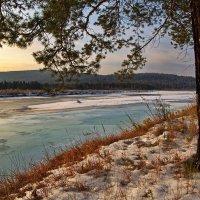Ледяная река :: Евгений Карский