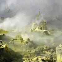 Новая Зеландия. Телепортация храмов Старого Багана в царство серы острова Белый :: Андрей Левин