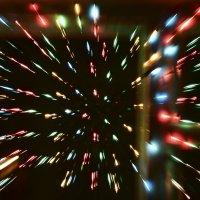 Новый год в окно. :: юрий Амосов