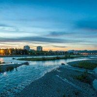 река Мзымта в Адлере :: Алексей Лейба