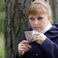 Чашка чая в осеннем лесу :: Вячеслав Васильевич Болякин