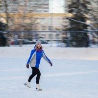 Девушка на коньках :: Роман Репин