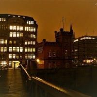 Вечерний Гамбург перед Рождеством (серия). Город мостов :: Nina Yudicheva