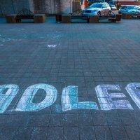 Адлер, надпись на асфальте :: Алексей Лейба