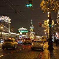 Вечерний город :: Aнна Зарубина