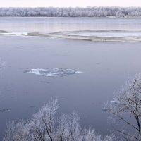 Волга.Начало зимы. :: Aлександр **