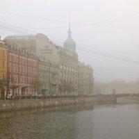 утренний туман на Мойке :: Елена
