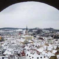 Чехия. Вид на Крумлов :: татьяна