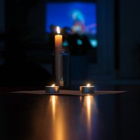 Вечер при свечах :: Мария Сидорова