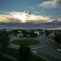 Закатное небо :: Владимир
