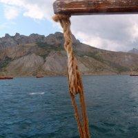 Отдых на море, Крым. Морская прогулка на Карадаг-3. :: Руслан Грицунь