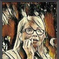 Иммитация. техники живописи Пикасо. Портрет Ю. Тимошенко :: Владимир Бровко