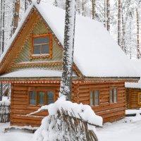 Зимняя избушка :: Сергей Тагиров