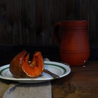 Десерт  из  тыквы :: Наталья Казанцева