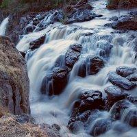 Водопад Аваш после заката Солнца :: Евгений Печенин