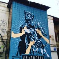 Граффити на стене дома :: Татьяна Тимофеева