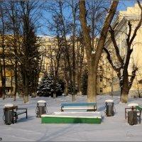 Курилка на зимних каникулах :: Нина Бутко