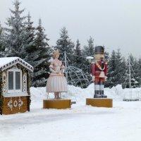 Новогодняя деревня «Ханский двор» :: Наиля