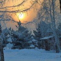 Мороз давит под конец дня... :: Екатерина Торганская