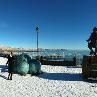 Зима в Коктебеле. :: Геннадий Валеев