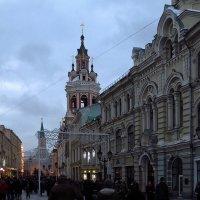 Никольская улица в Москве :: Андрей Лукьянов