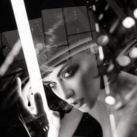 Ольга и свет :: Alex Krivtsov