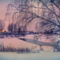 Зимний вечер в России. :: ALISA LISA