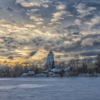 Winter evening :: Dmitry Ozersky
