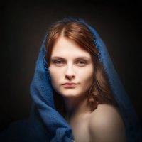 Варенька в синем :: Олег Дроздов