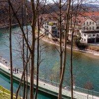 Река Ааре, Берн, Швейцария :: Witalij Loewin