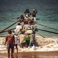 """""""Выход"""" в океан...Шри Ланка! :: Александр Вивчарик"""