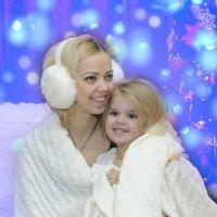 с мамой всегда тепло и весело :: Ольга Русакова