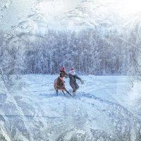 Как Дед Мороз хотел лошадку запрячь :: Нина