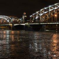 Мост Императора Петра Великого или Большеохтинский; Санкт-Петербург :: Ирина Малышева