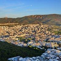 Холм Ликавитос, вид на Афины :: Владимир Брагилевский