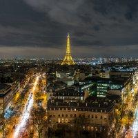Париж,вид с Триумфальной арки :: Наталия