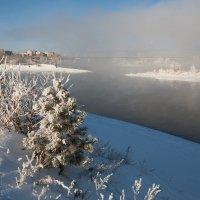 Парит река :: Анатолий Иргл