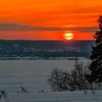 Закат на мороз :: Владимир Максимов