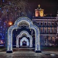 Петербург, новогодняя аркада на Дворцовой пл. :: Наталья Иванова
