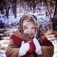 Детский портрет :: Tatiana Bobrikova