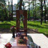 Аллея   Героев  в   Ивано - Франковске :: Андрей  Васильевич Коляскин